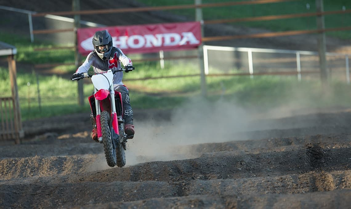 Мотоцикл Honda CRF250R Red - 6
