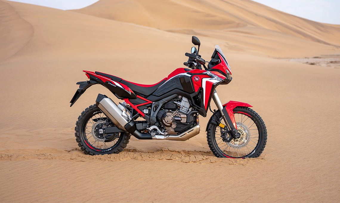 Мотоцикл Honda Africa Twin — CRF1100 DL (DCT) Black - 6