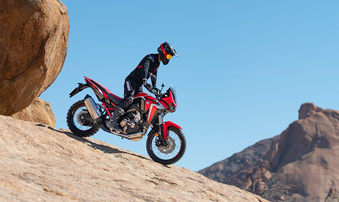Мотоцикл Honda Africa Twin CRF1100 AL Black - 5