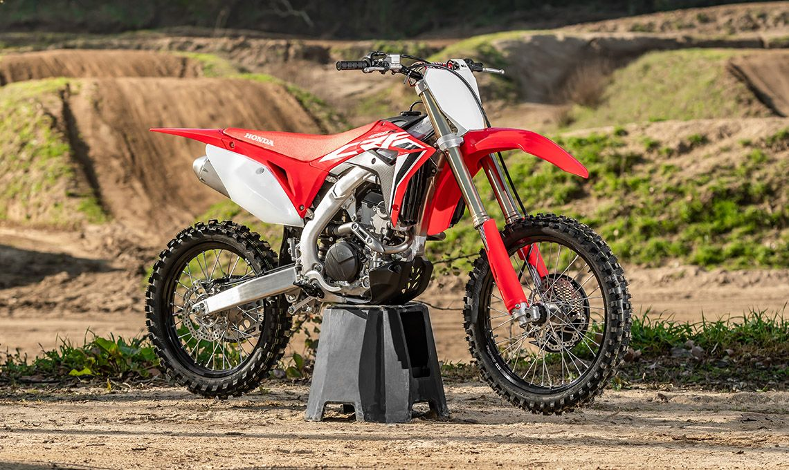 Мотоцикл Honda CRF250R Red - 9