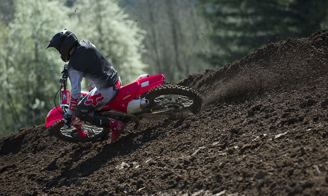 Мотоцикл Honda CRF250R Red - 4