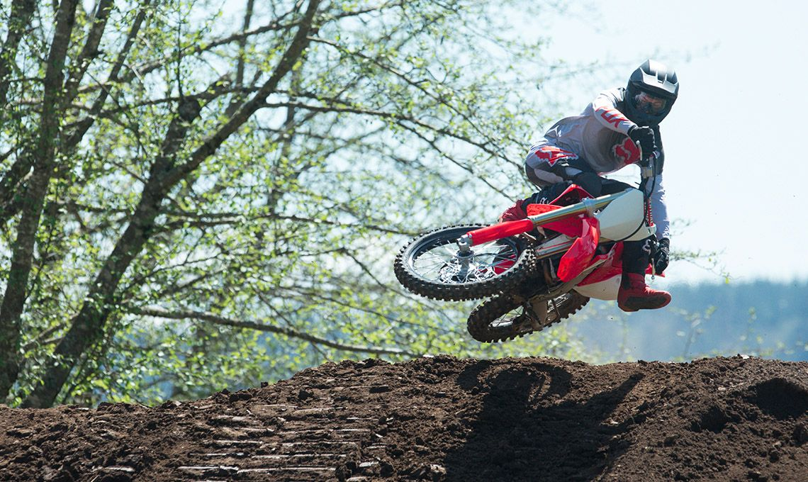 Мотоцикл Honda CRF250R Red - 3