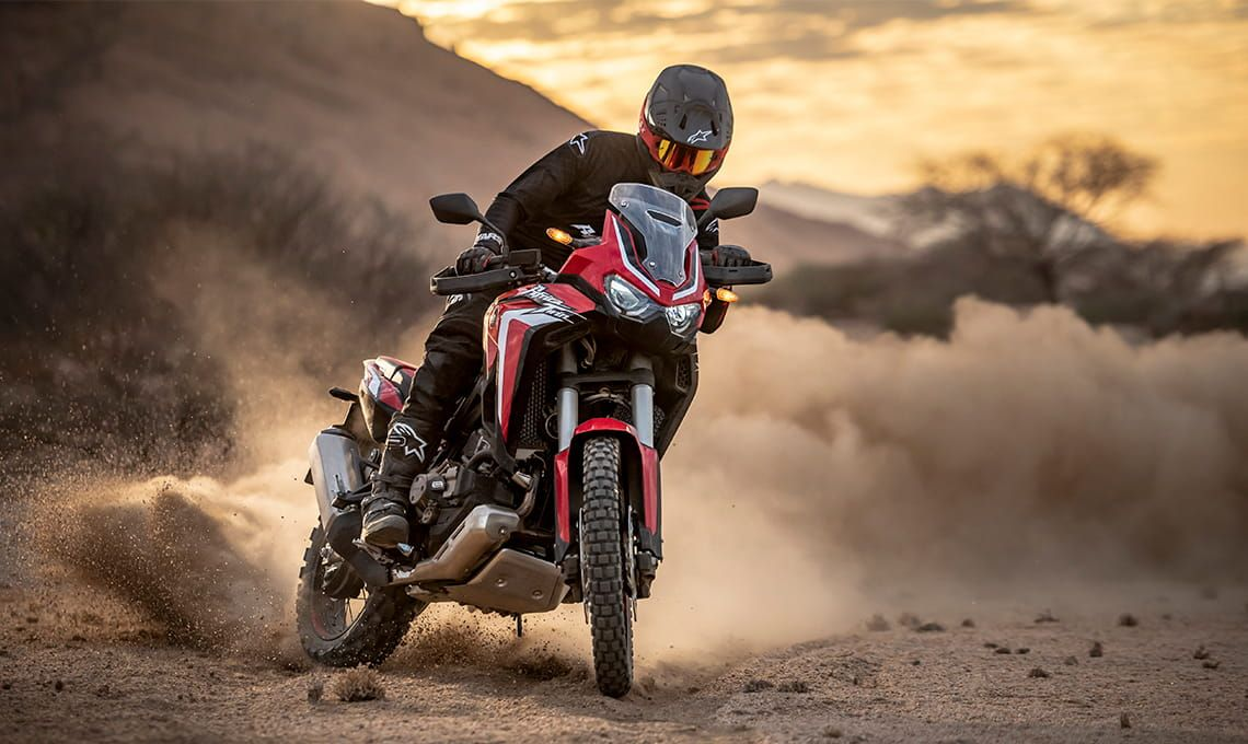 Мотоцикл Honda Africa Twin CRF1100 AL Black - 4