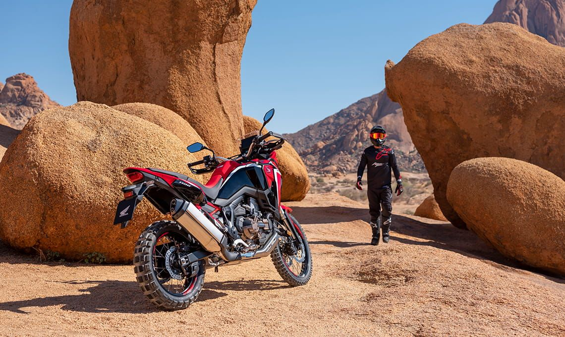 Мотоцикл Honda Africa Twin CRF1100 AL Black - 3