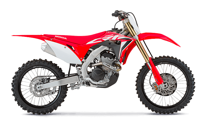 Мотоцикл Honda CRF250R Red - 1
