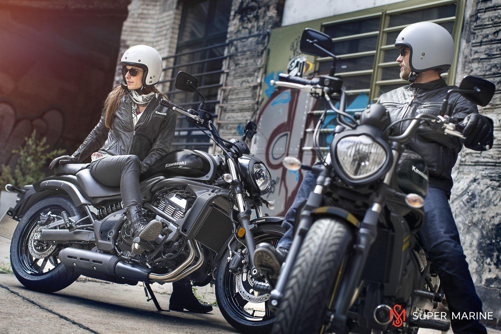 Мотоцикл Kawasaki Vulcan S ABS Черно-Золотистый 2020 - 7