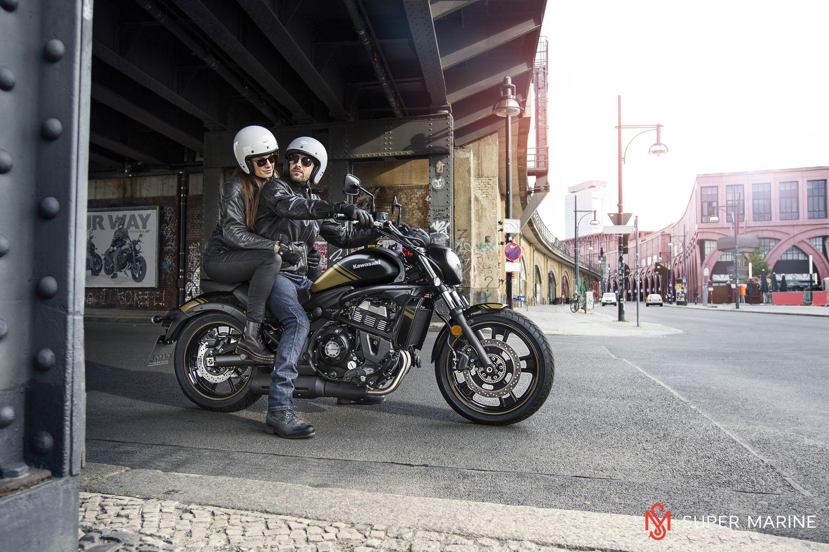 Мотоцикл Kawasaki Vulcan S ABS Черно-Золотистый 2020 - 9