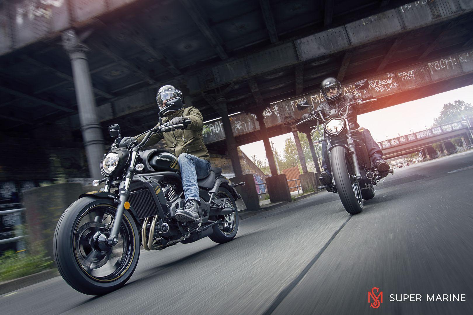Мотоцикл Kawasaki Vulcan S ABS Черно-Золотистый 2020 - 10