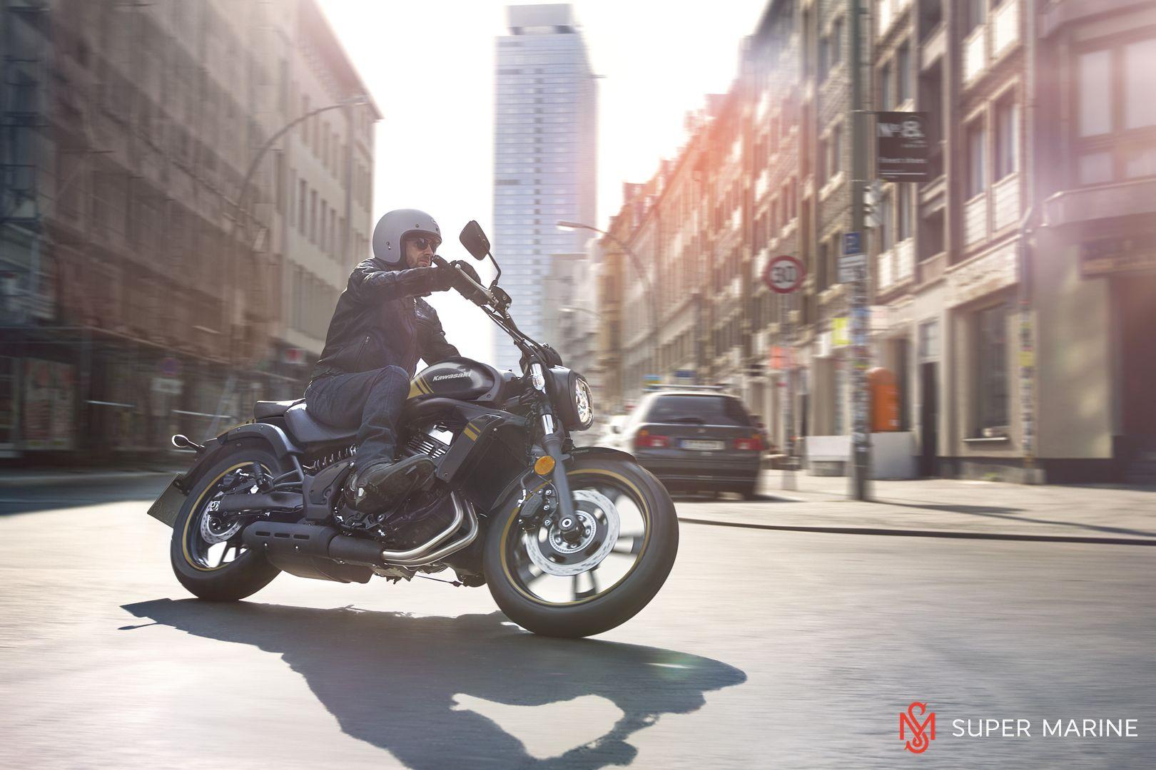 Мотоцикл Kawasaki Vulcan S ABS Черно-Золотистый 2020 - 11