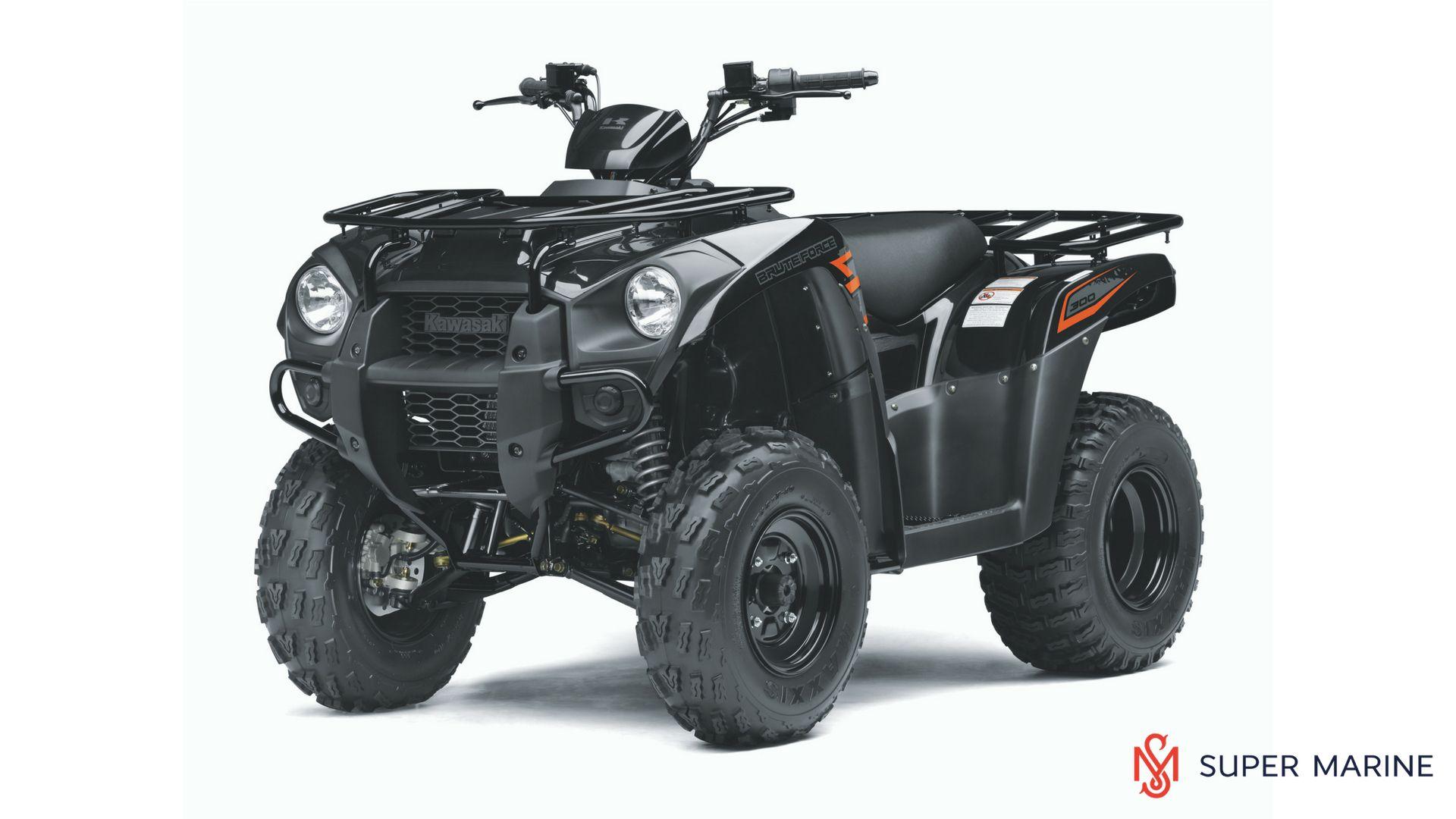 Квадроцикл Kawasaki Brute Force 300 Черный 2020 - 1