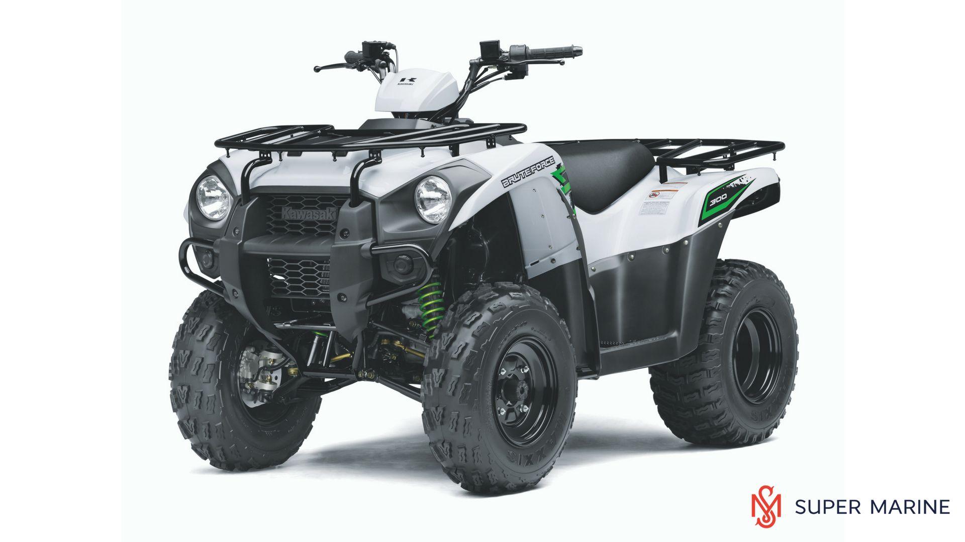 Квадроцикл Kawasaki Brute Force 300 Белый 2020 - 1