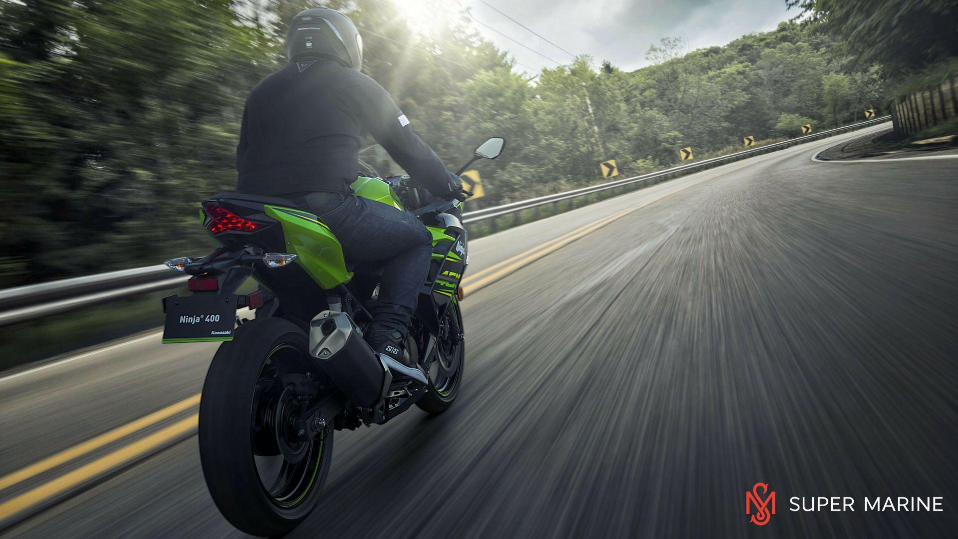 Мотоцикл Kawasaki Ninja 400 Зеленый 2020 - 10