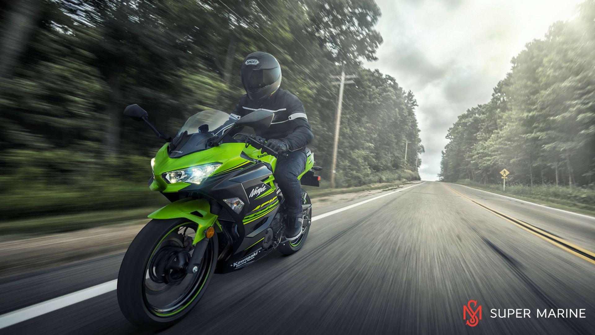 Мотоцикл Kawasaki Ninja 400 Зеленый 2020 - 11