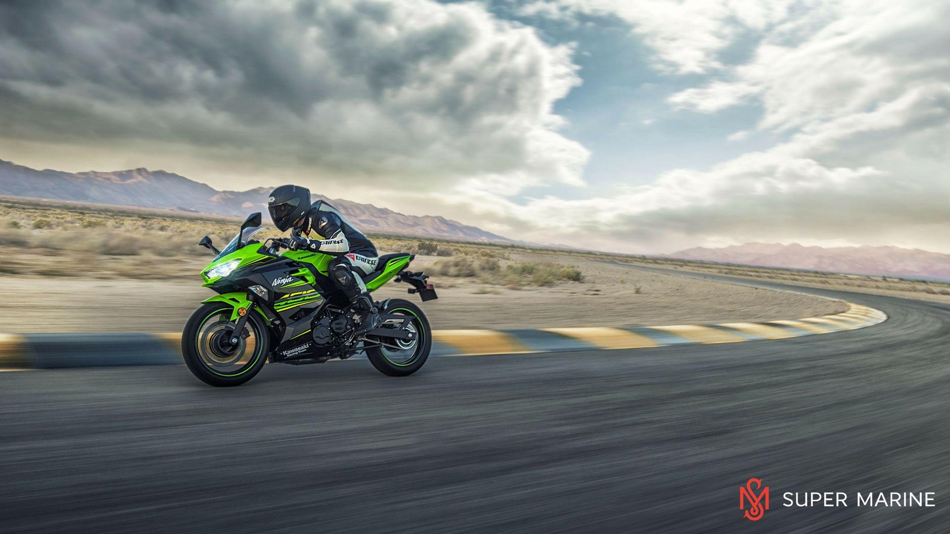 Мотоцикл Kawasaki Ninja 400 Черный 2020 - 12