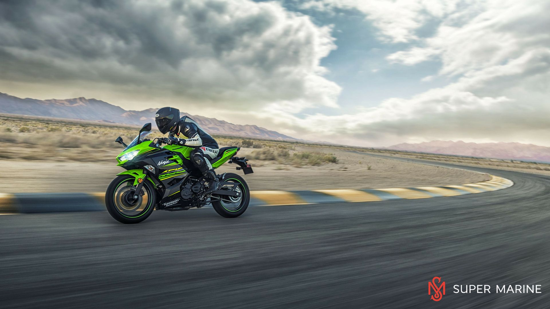 Мотоцикл Kawasaki Ninja 400 Зеленый 2020 - 12