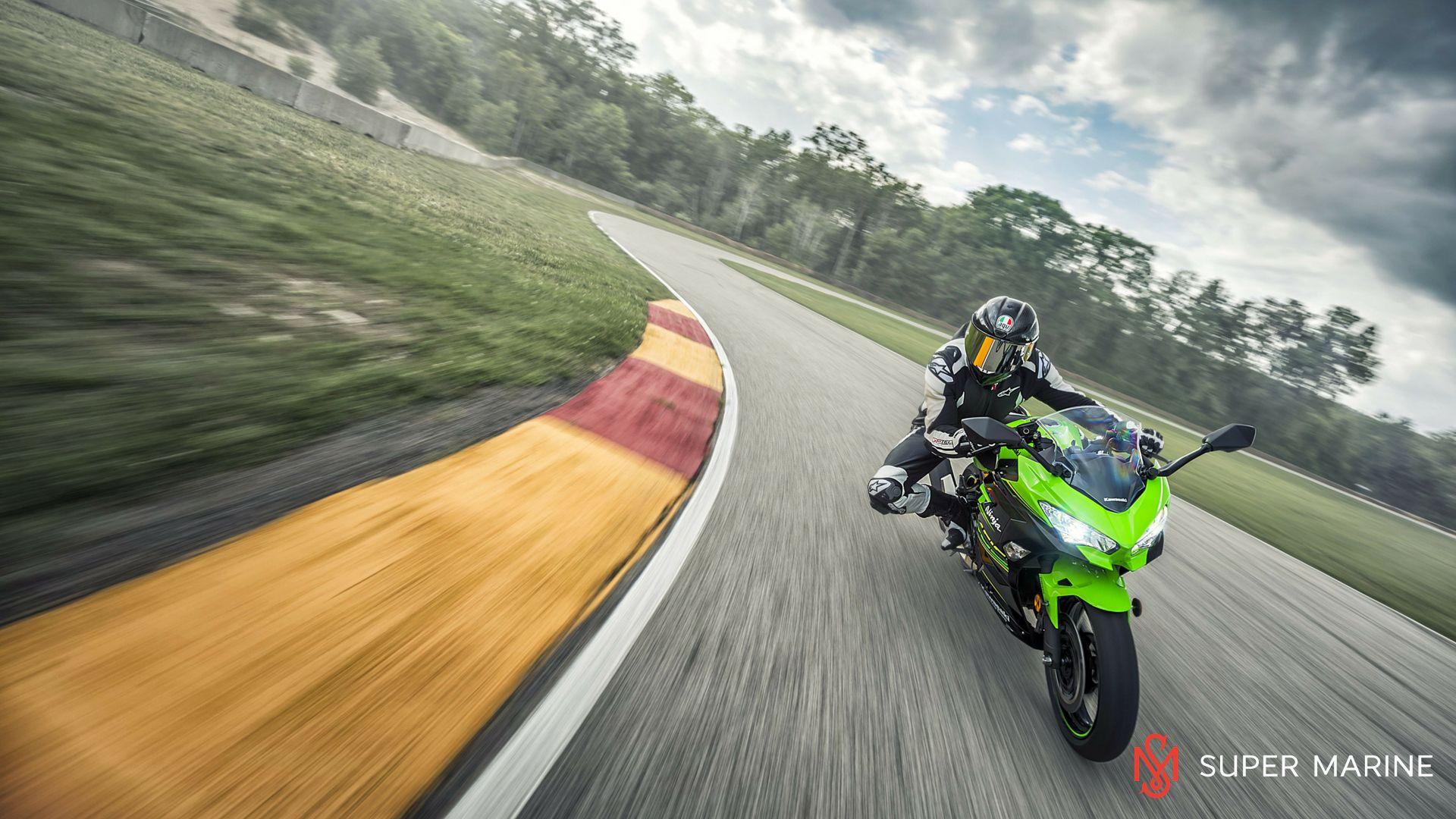 Мотоцикл Kawasaki Ninja 400 Зеленый 2020 - 9