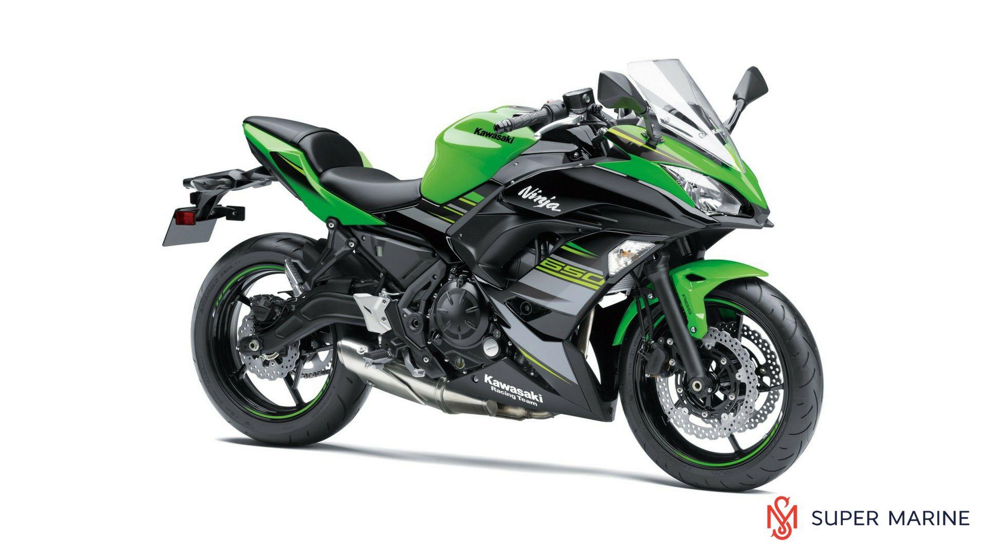 мотоцикл Kawasaki Ninja 650 Krt Edition Abs зеленый 2018 супер
