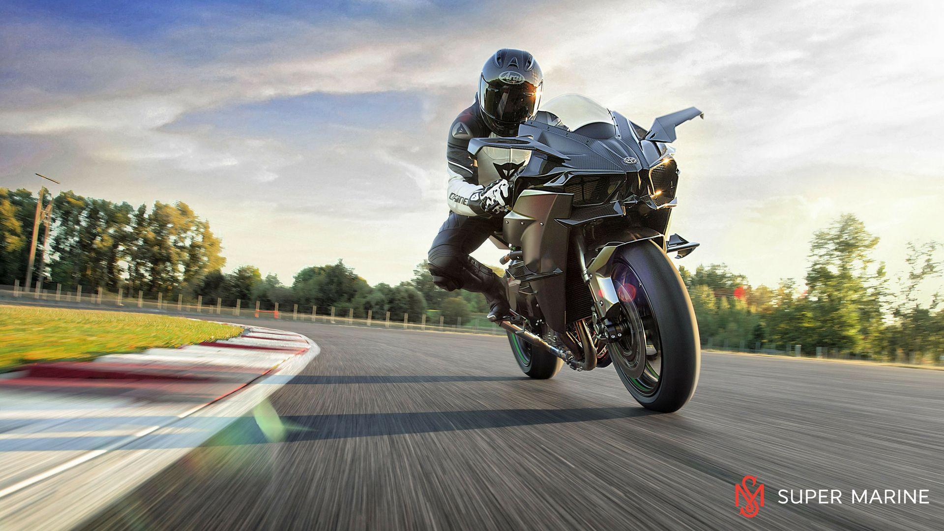 Мотоцикл Kawasaki Ninja H2R Серый 2020 - 6