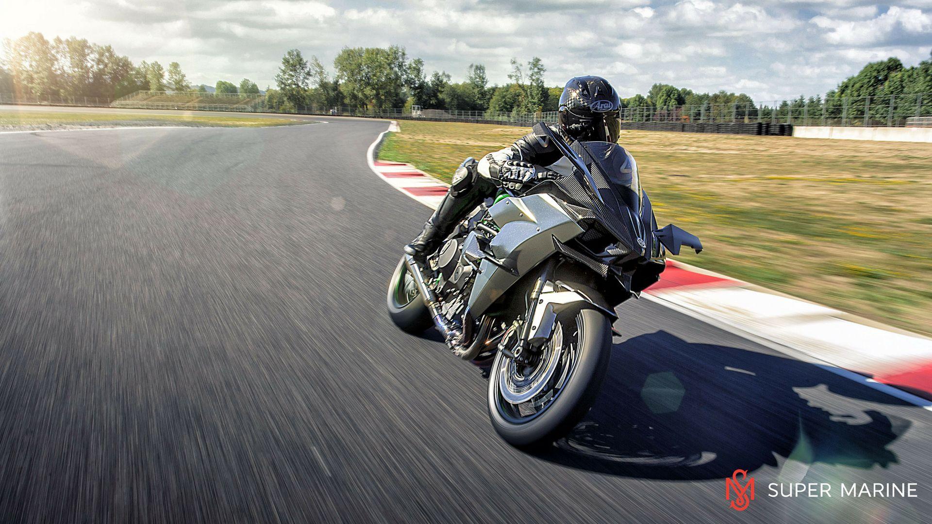 Мотоцикл Kawasaki Ninja H2R Серый 2020 - 7