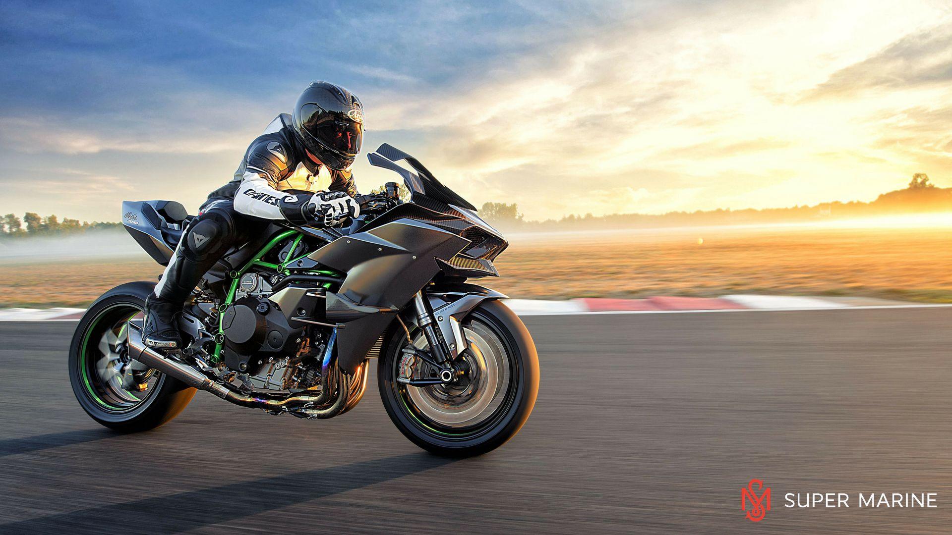 Мотоцикл Kawasaki Ninja H2R Серый 2020 - 8