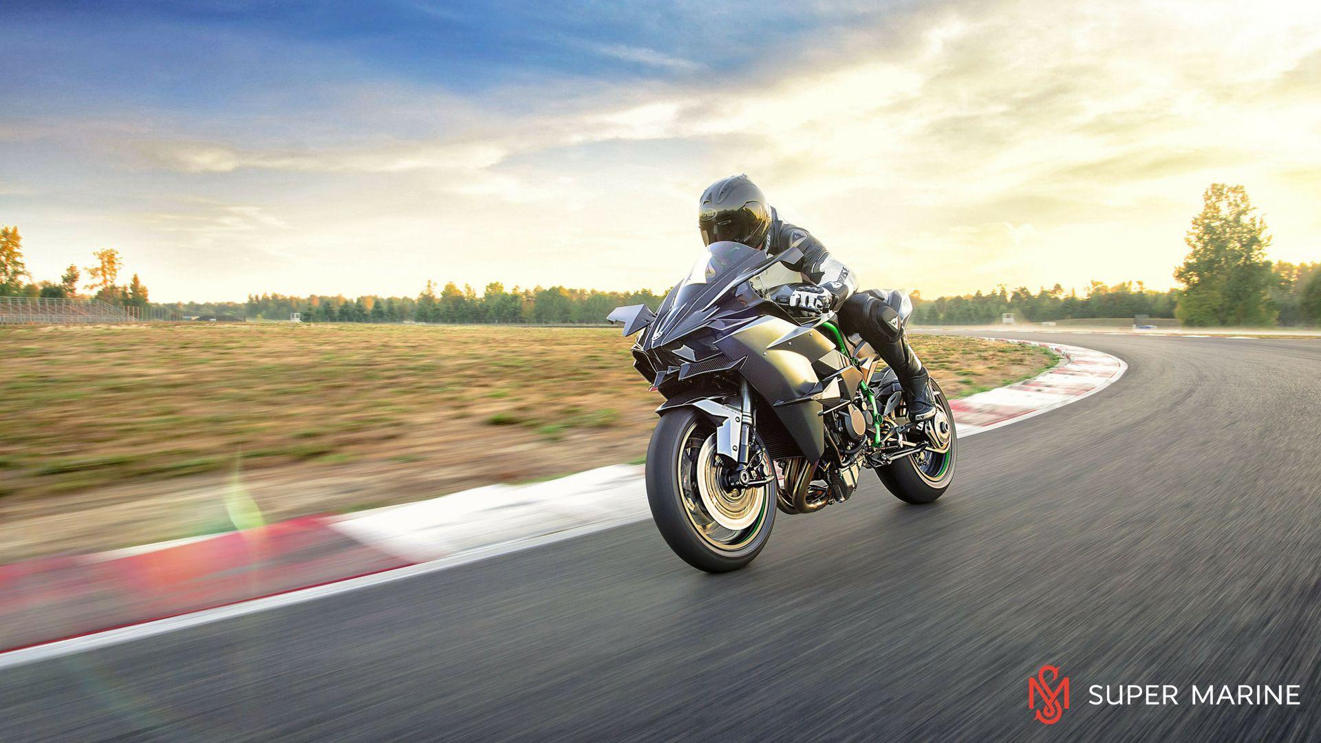 Мотоцикл Kawasaki Ninja H2R Серый 2020 - 10