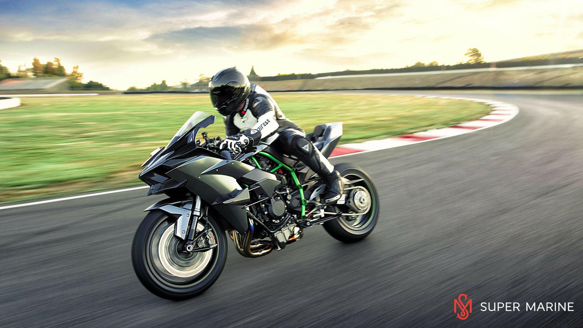 Мотоцикл Kawasaki Ninja H2R Серый 2020 - 11
