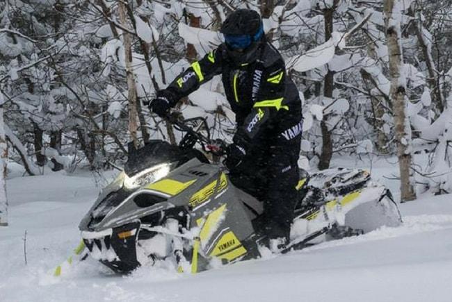 Снегоходы Yamaha для глубокого снега