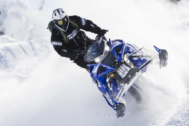 Спортивные снегоходы Yamaha