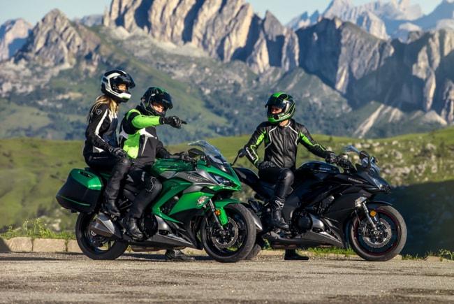 Спорт-туристические мотоциклы kawasaki