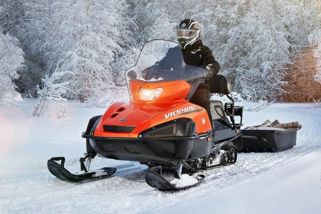 Утилитарные снегоходы Yamaha