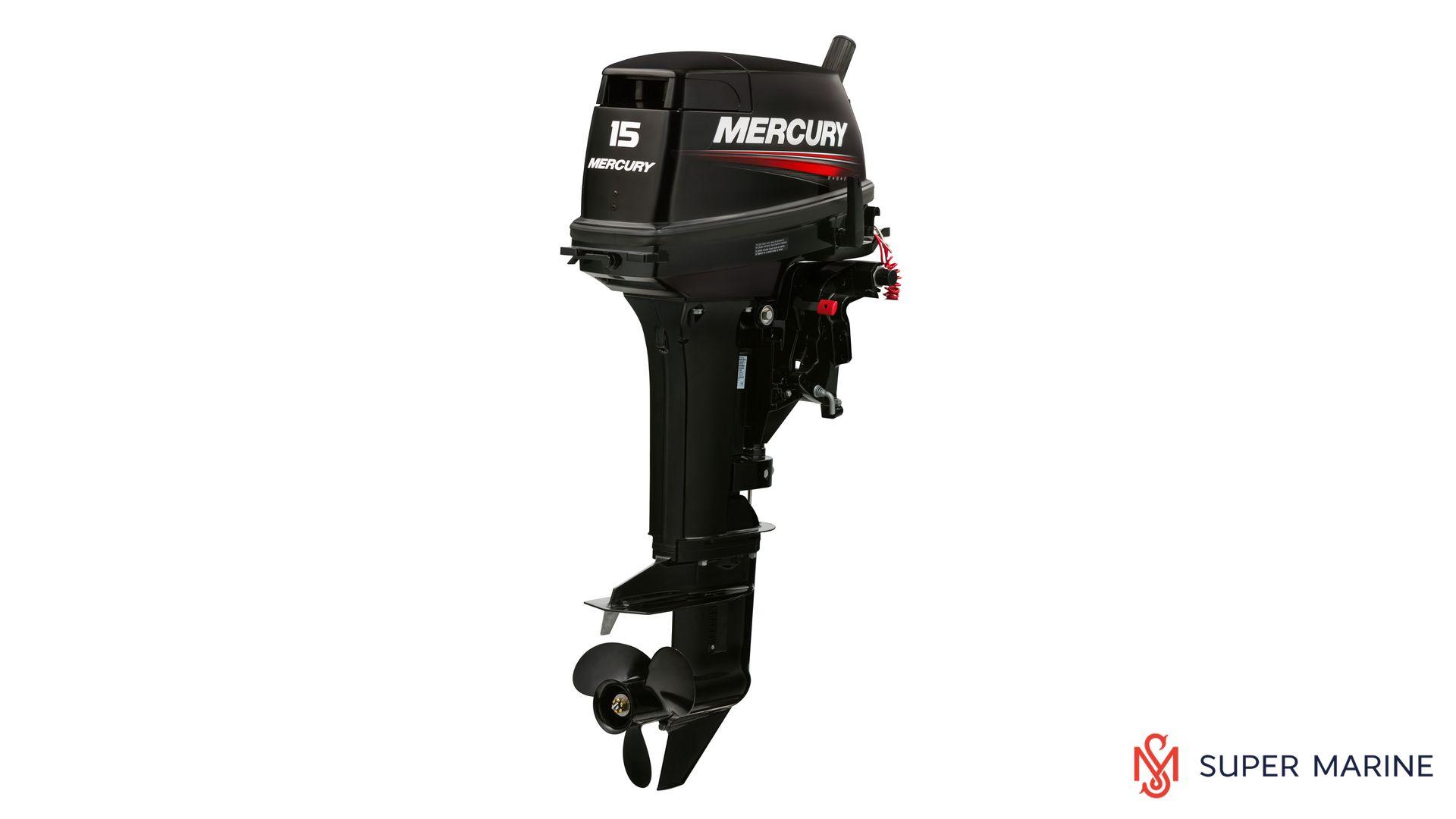 Двухтактный лодочный мотор MERCURY 15MLH 294CC - 1