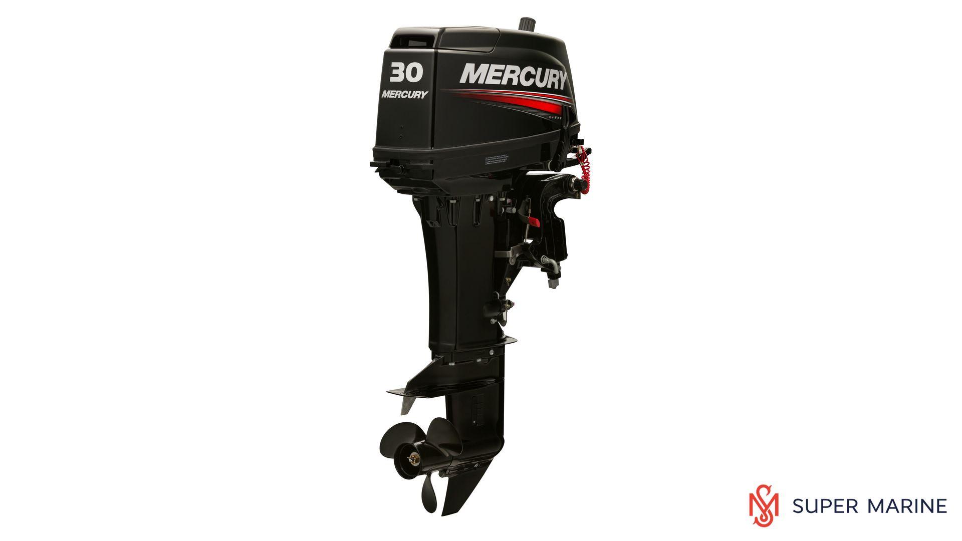Двухтактный лодочный мотор MERCURY 30 EL - 1