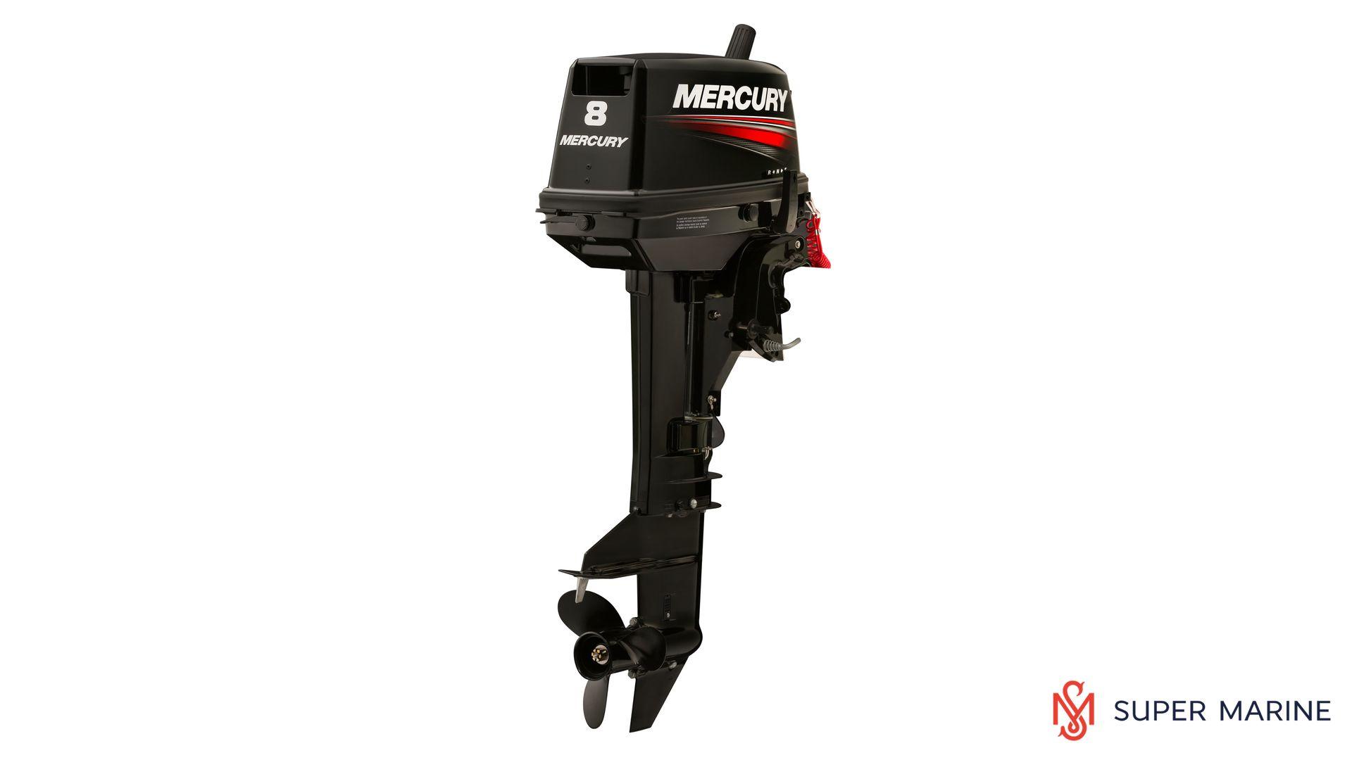 Двухтактный лодочный мотор MERCURY 8 MLH - 1