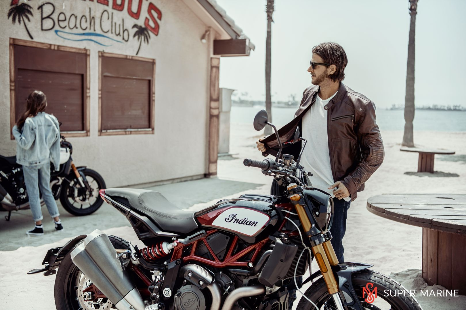 Мотоцикл Indian FTR 1200 S Red over Steel Gray 2019 - 21