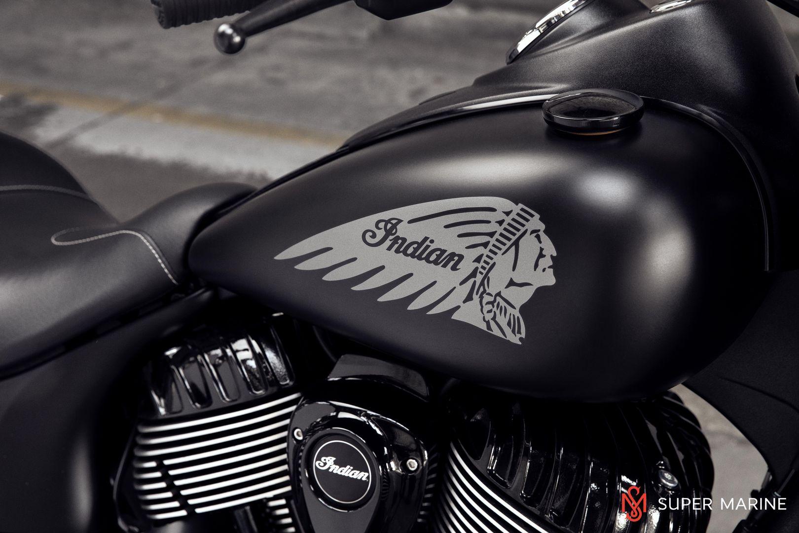 Мотоцикл Indian Chief Dark Horse Thunder Black Smoke 2019 - 17