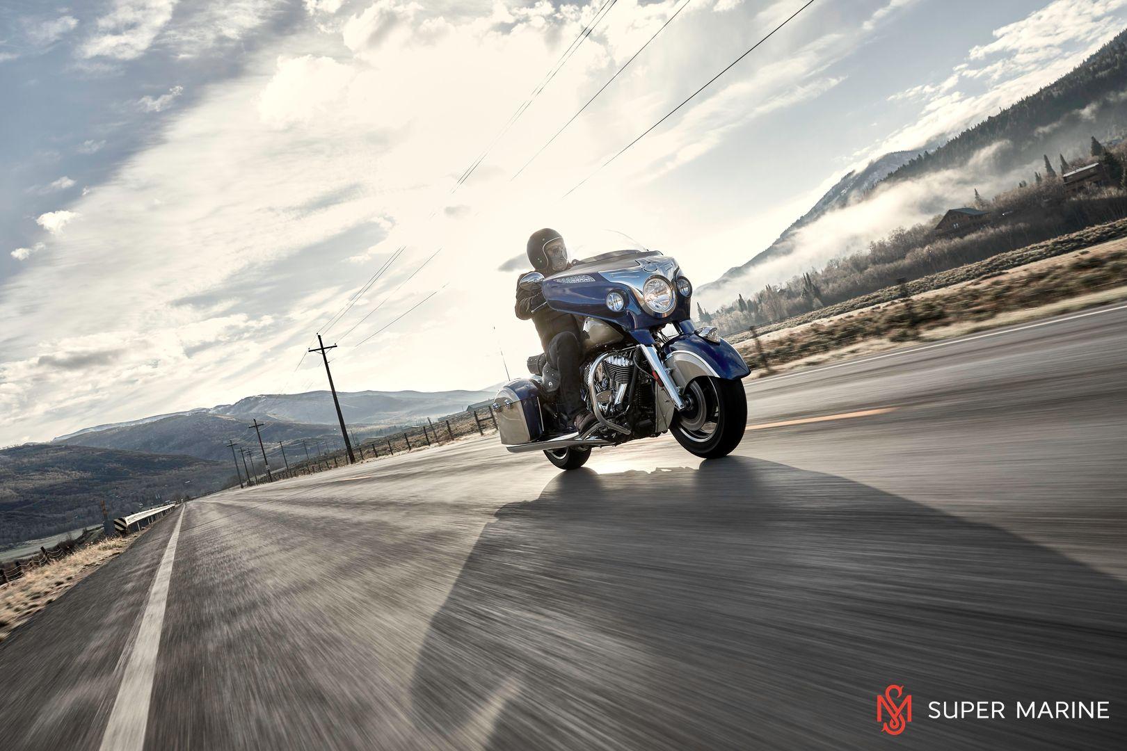 Мотоцикл Indian Chieftain Classic Deep Water Metallic / Dirt Track Tan 2019 - 20