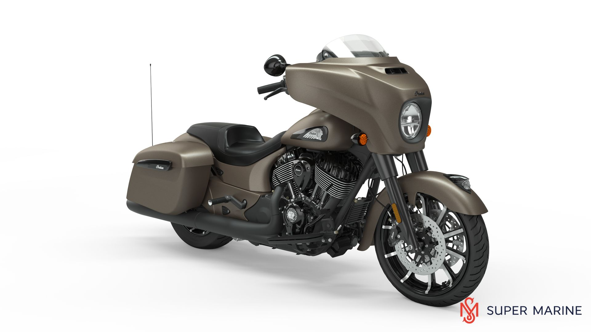 Мотоцикл Indian Chieftain Dark Horse Bronze Smoke 2019 - 8