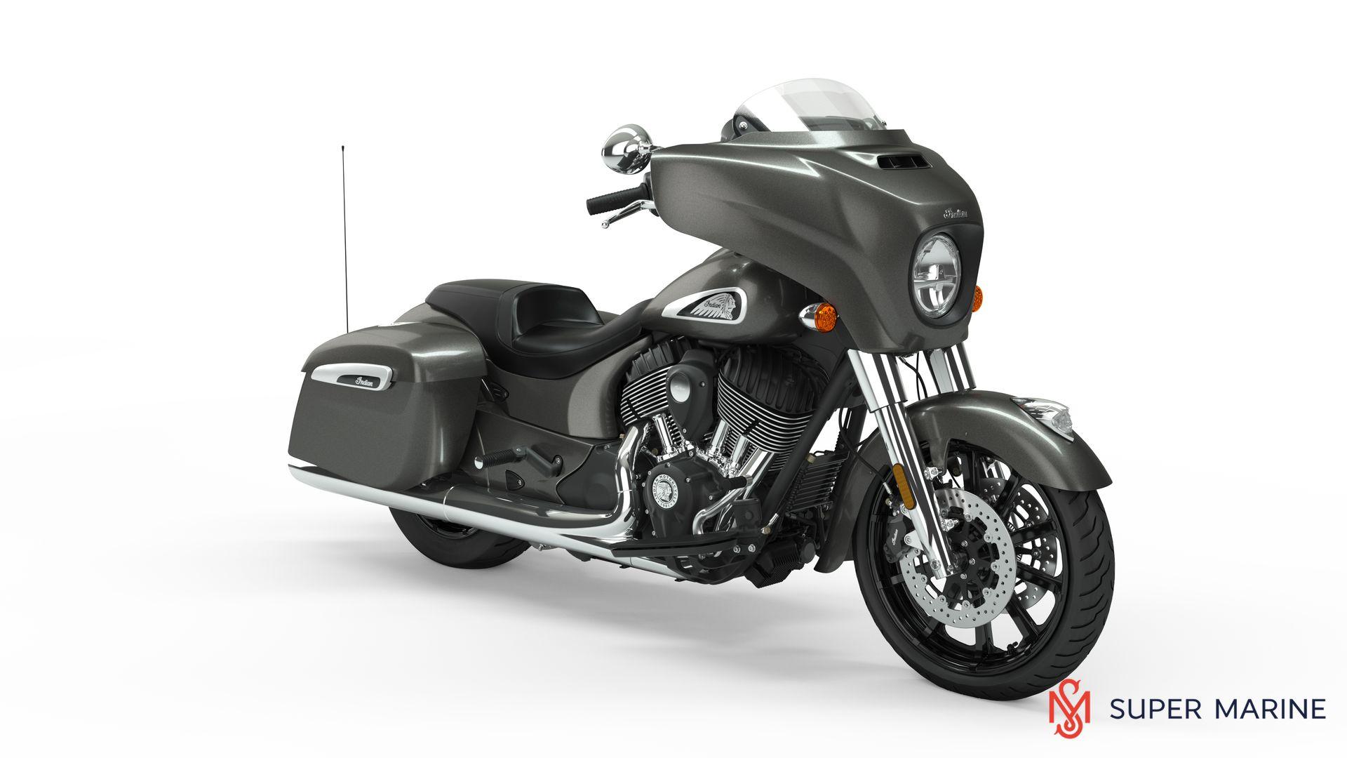 Мотоцикл Indian Chieftain Steel Gray 2019 - 1