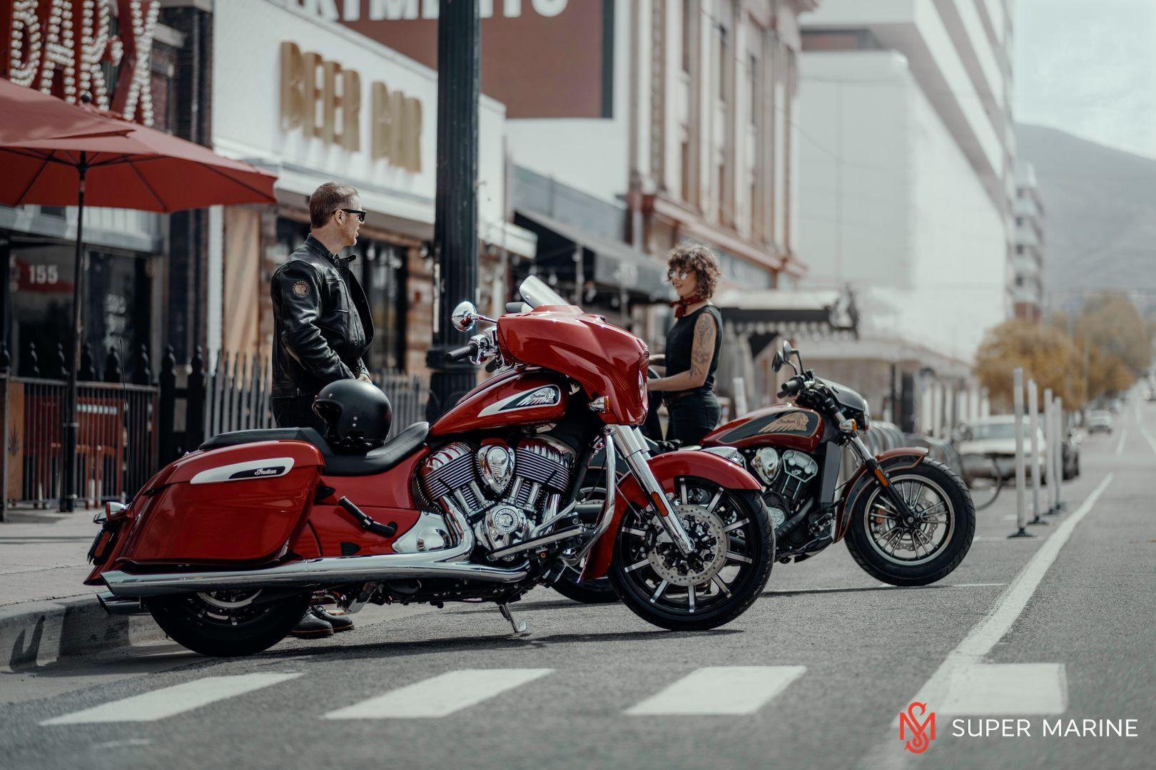 Мотоцикл Indian Chieftain Limited Dark Walnut 2019 - 17
