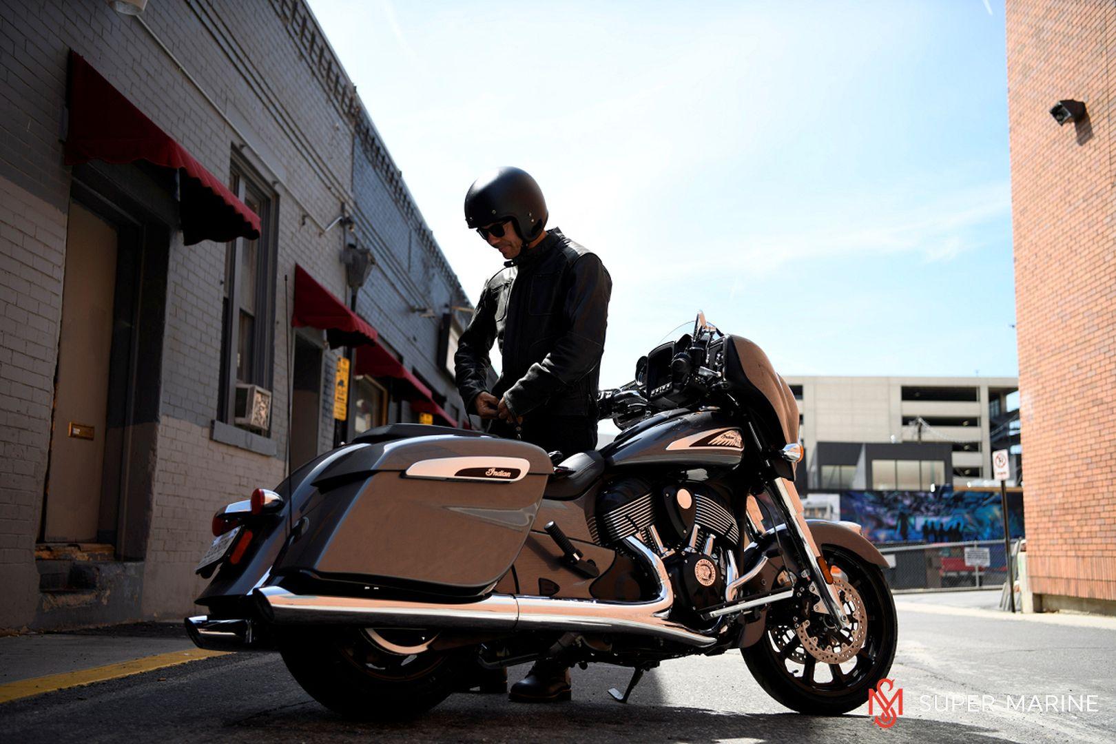 Мотоцикл Indian Chieftain Steel Gray 2019 - 15