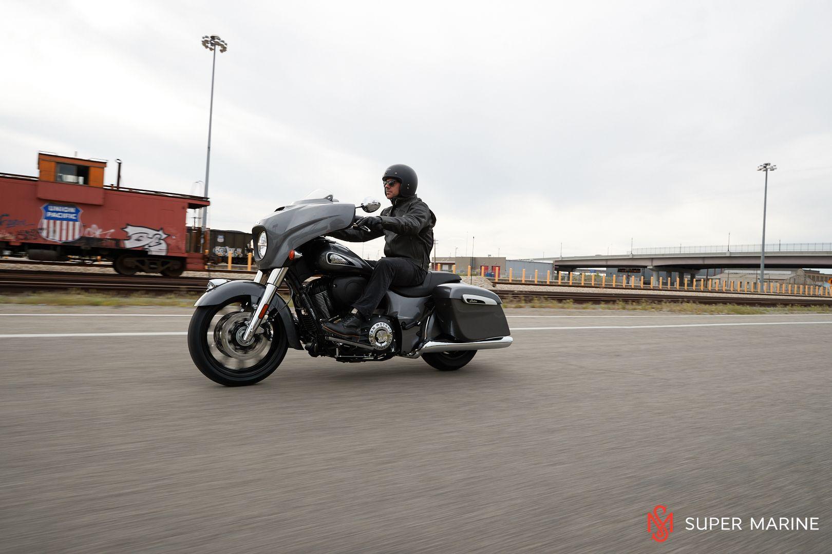 Мотоцикл Indian Chieftain Steel Gray 2019 - 16