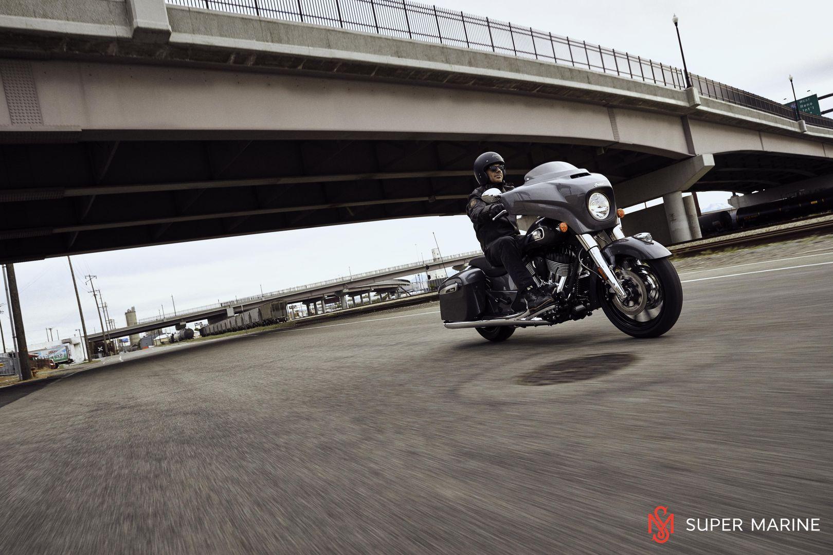 Мотоцикл Indian Chieftain Steel Gray 2019 - 17