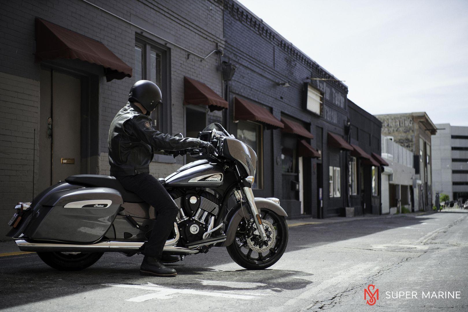 Мотоцикл Indian Chieftain Steel Gray 2019 - 18