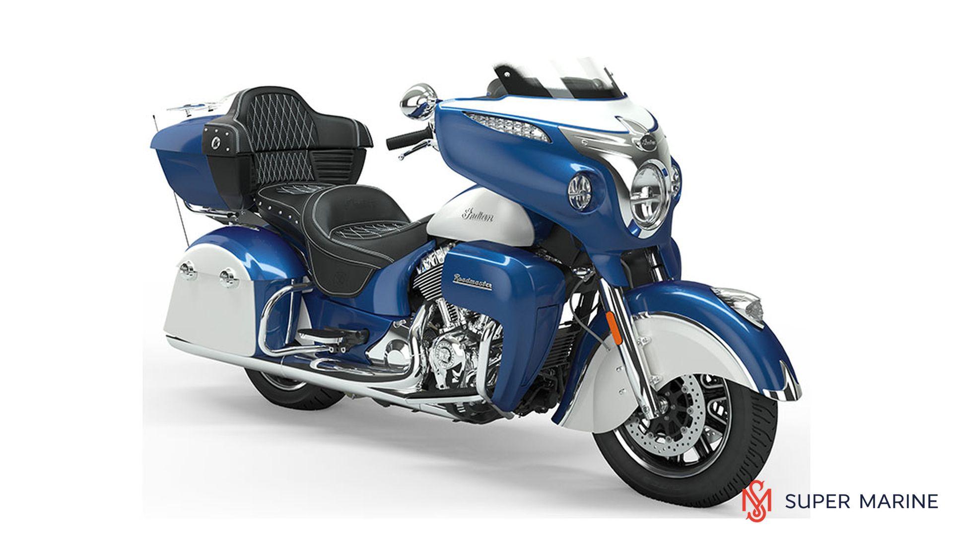 Мотоцикл Indian Roadmaster Icon Brilliant Blue over Pearl White 2019 - 1