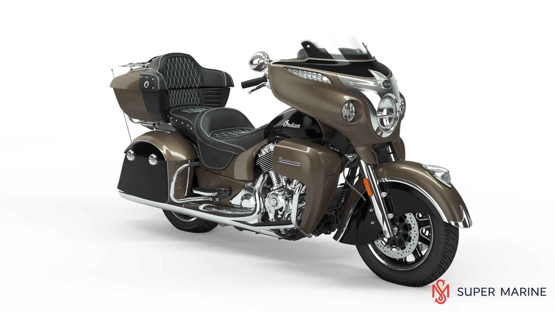 Мотоцикл Indian Roadmaster Polished Bronze / Thunder Black 2019 - 1