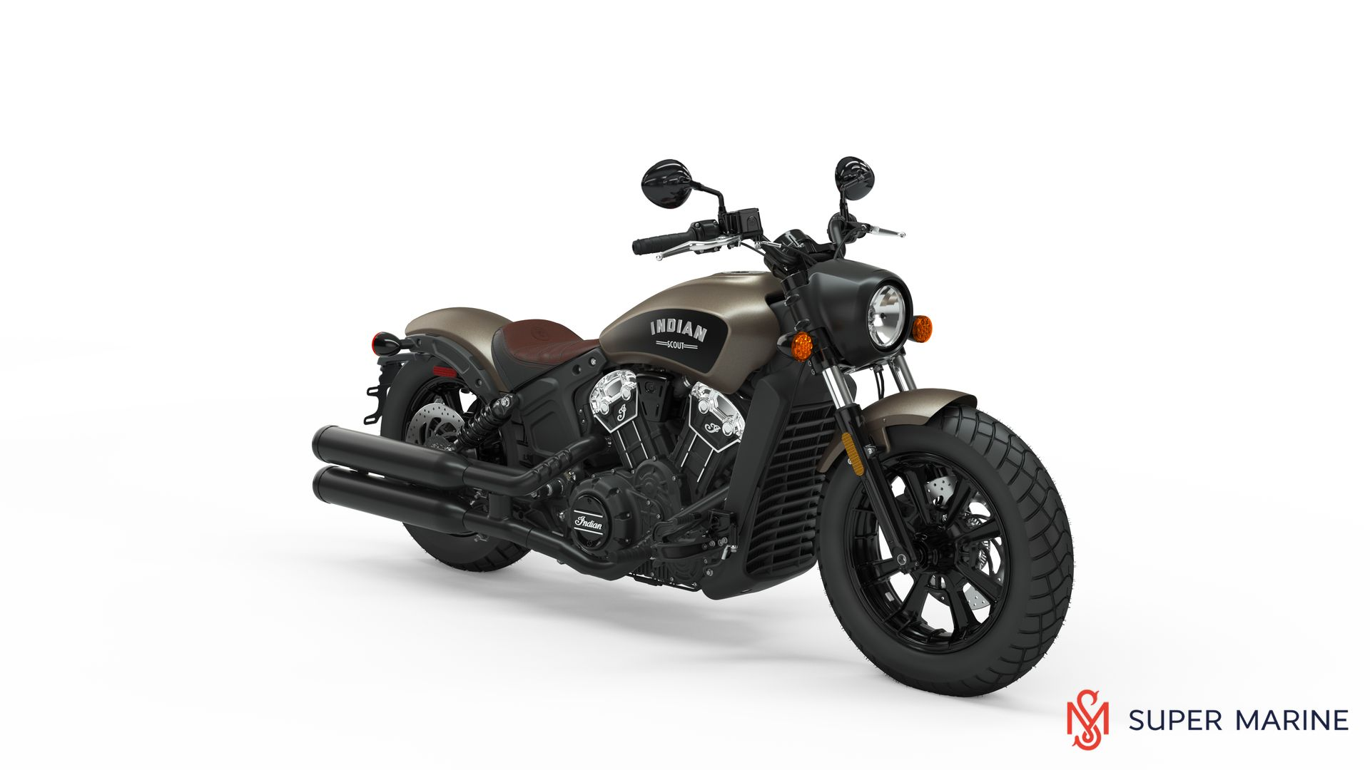 Мотоцикл Indian Scout Bobber Bronze Smoke 2019 - 1
