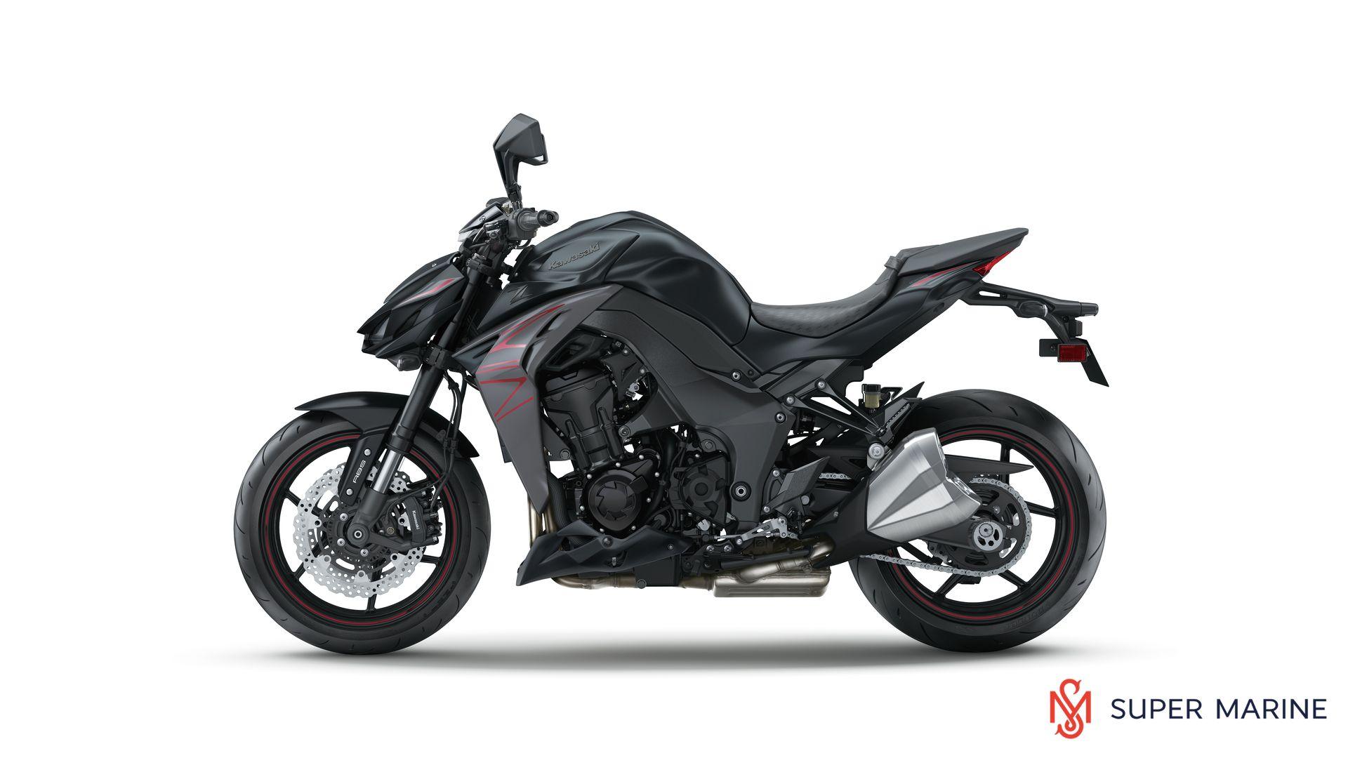 мотоцикл Kawasaki Z1000 Abs черный 2019 супер марин мотосалоны и