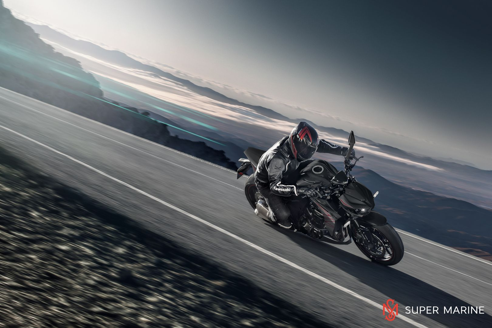 Мотоцикл Kawasaki Z1000 Черный 2020 - 8