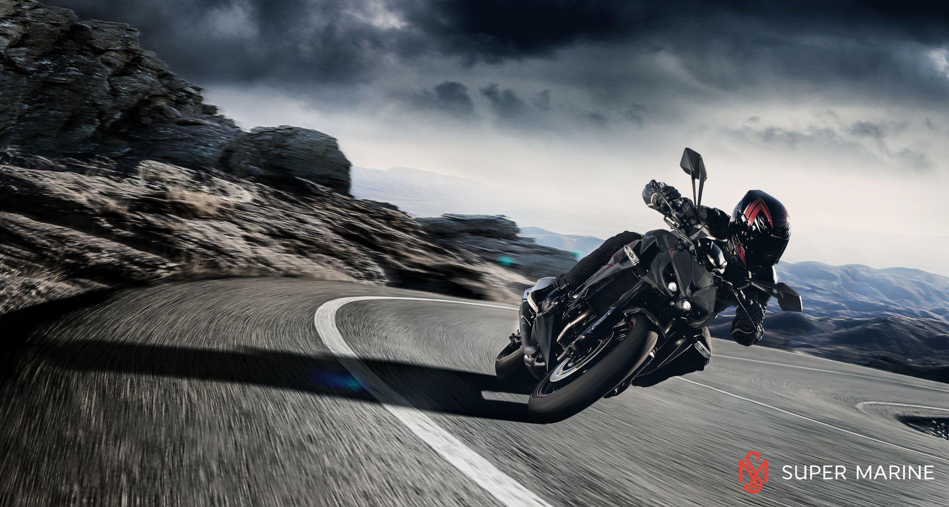 Мотоцикл Kawasaki Z1000 Черный 2020 - 9