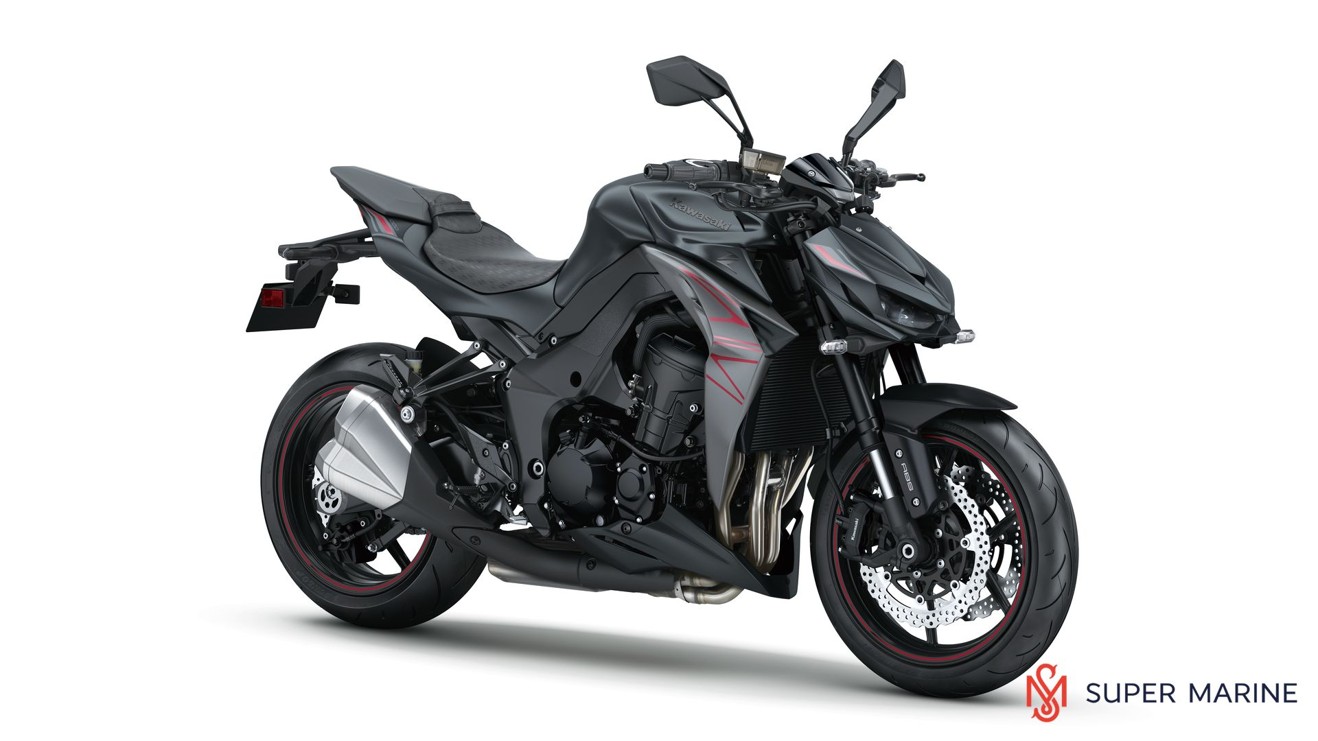 Мотоцикл Kawasaki Z1000 Черный 2020 - 1